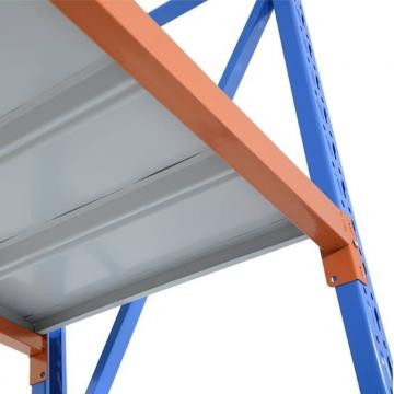 Galvanized Storage Rack Adjustable Metal Shelving Units for Food Processing