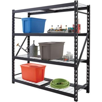 "Refrigerated Area 4 Tier Slanted Wire Shelving Unit Chrome Finish (36"" W X 18"" D)"