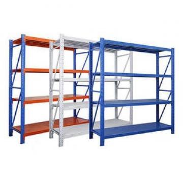 Durable Industrial Metal Steel Wire Shelving, Garage Warehouse Storage Rack Shelving with Wheel