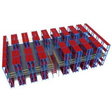 8 Layers Industrial Warehouse Equipment Chrome Plastic Bin Steel Wire Shelving Solutions